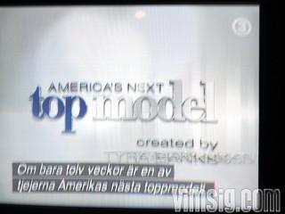 21.00 - dags för ny säsong av top model