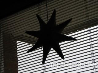 funderar på att ta ner adventsstjärnan