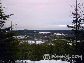 utsikt från himmelsberget