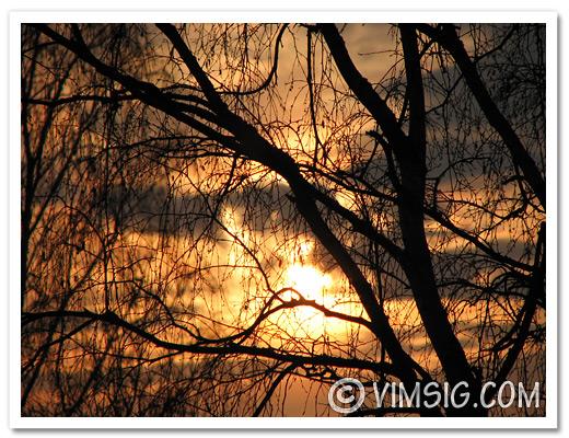 fotar solnedgång