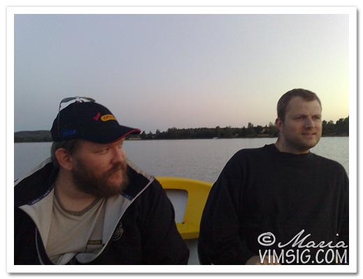 mattias och A sitter i samma båt *ler*