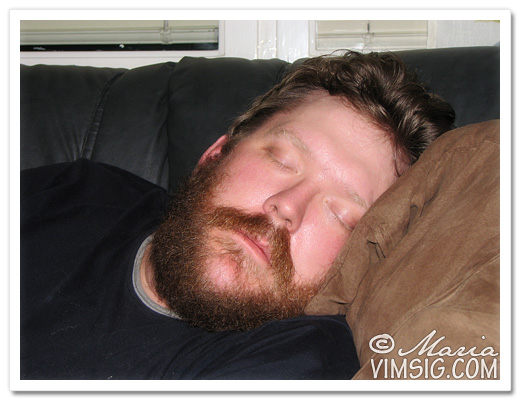 fridfull sovande mattias