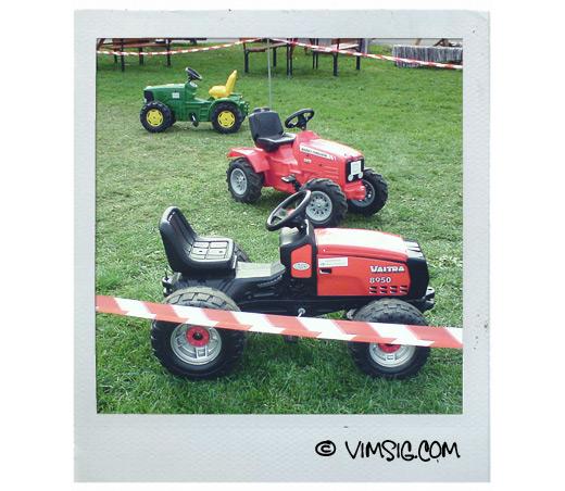 barnsliga traktorer