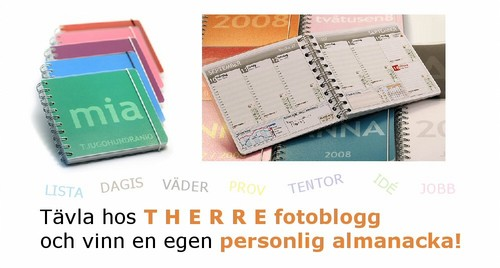 vinn en personlig almanacka