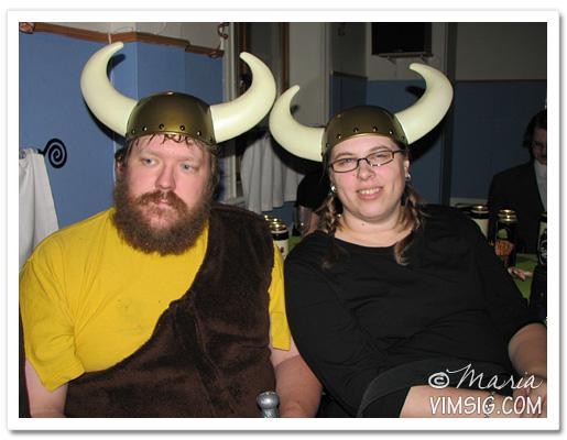 Hagbard och Helga aka Mattias och jag