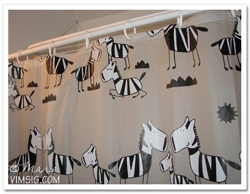 extrabild för att visa söta zebrorna