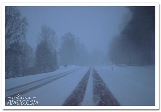 snöväder