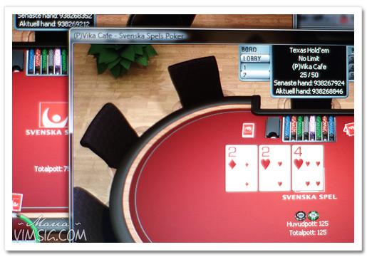 spelar privat pokerturnering på nätet