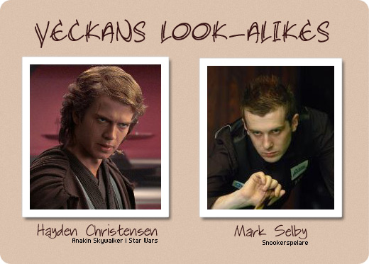 veckans look-alikes