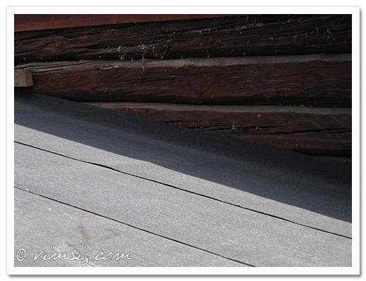 papp på taket