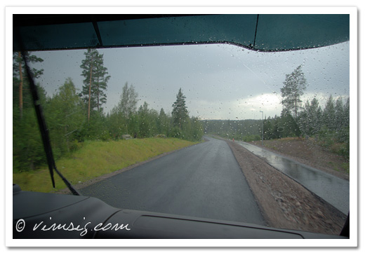 regn och plask