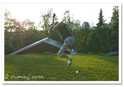 en hoppande Hannes