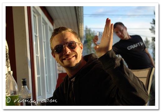 Linslusarna Thomas och Gunnar