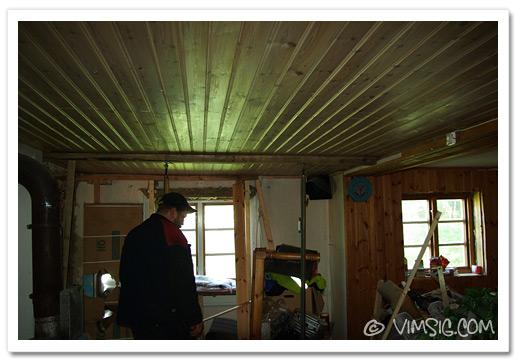 vårt rakare tak