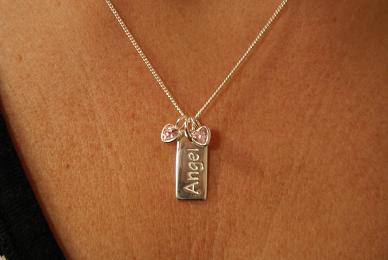 fint halsband från my angels