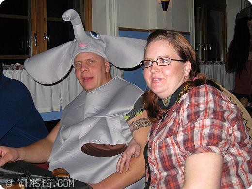 Micke aka Dumbo och Maria the Cowgirl