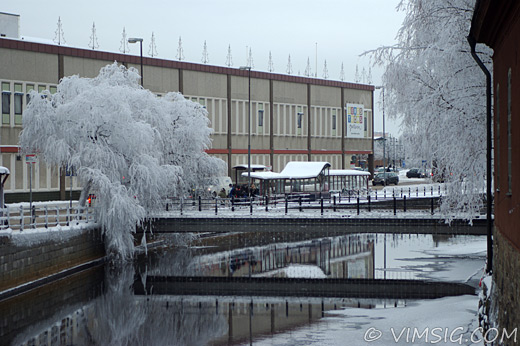 vintervackert på stan