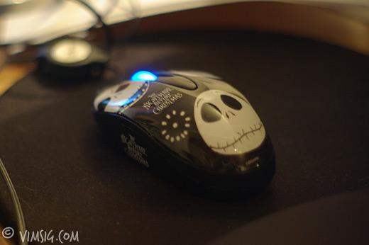 skrämmande mus