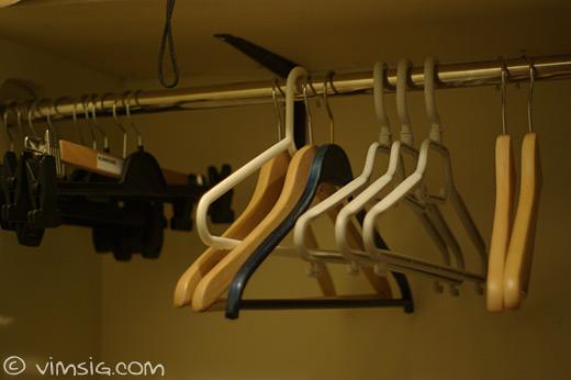 galgar i den älskade klädkammaren