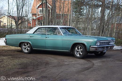 chevrolet impala -66