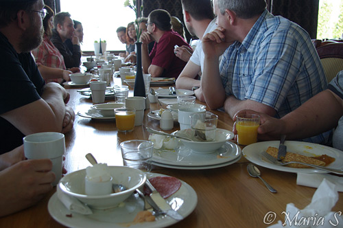 frukost på Dalecarlia