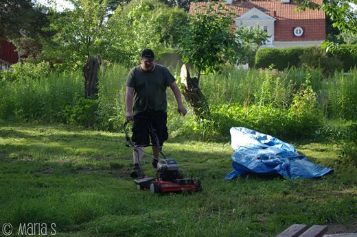 mattias och gräsklipparen