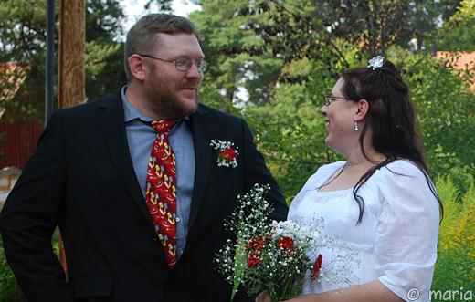 glada och snart gifta