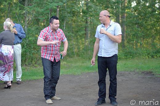 Magnus och Hannes