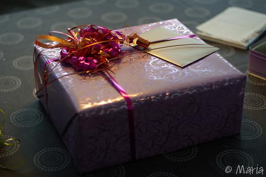 vackert paket