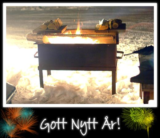 grillning på nyår