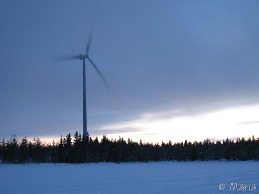 tillvaratagen vind
